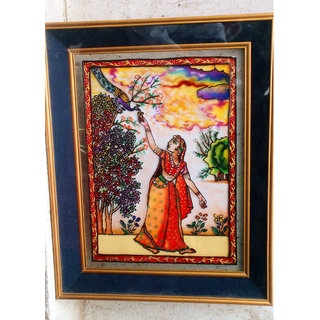 The Princess- Original Glass Painting