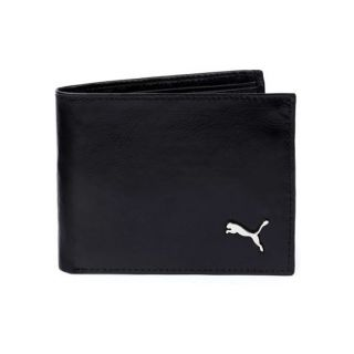 Puma Men's Black Leather Wallet