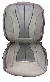 ZoHa Genuine leather  car seat cover for NISSAN TERRANO in SILVER and METALLIC SILVER