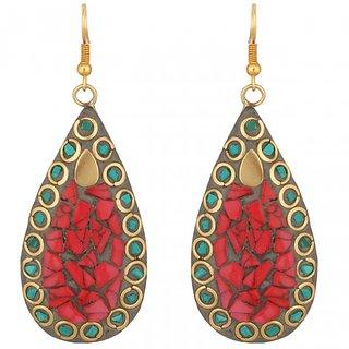 Ankahi Brass Earrings