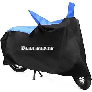Bull Rider Two Wheeler Cover For Tvs Flame With Free Key Chain