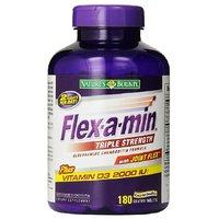 NatureS Bounty Flex-A-Min Triple Strength With Joint FlexPlus Vitamin D3 2000 Iu