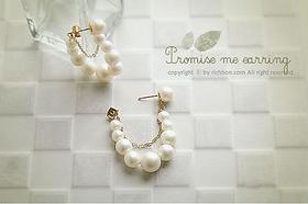 Elegant Beauty imitation pearl earrings jewelry