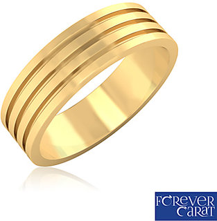 Certified Pure Gold Metal Mens Ring 14K Hallmarked Gold Ring GR-0024