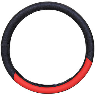 PegasusPremium Amaze BlackRed Steering Cover