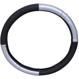 PegasusPremium Fortuner BlackGrey Steering Cover
