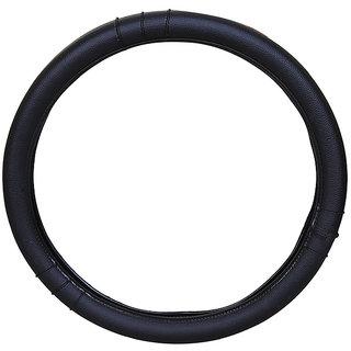 PegasusPremium Logan Black Steering Cover