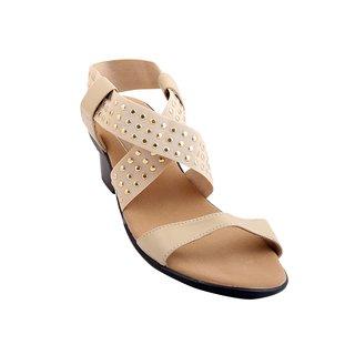 GLAMWALK Casual Sandal in Beige