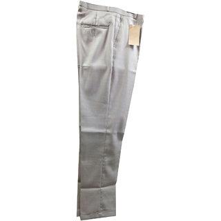 VB Clothings Formal Trousers for Men-Cream Colour