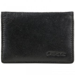 Gluck Germany Sleek Leather Card Holder