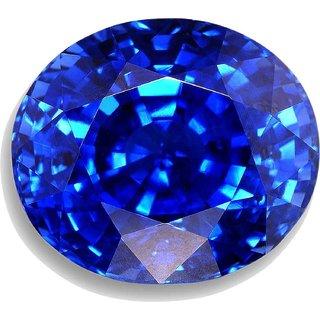 JAIPUR GEMSTONE 5.25 Carat Sapphire-Blue