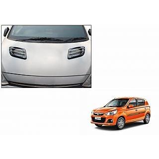 Speedwav Car Twin D Bonnet Graphics Black And ChromeMaruti Alto - Graphics for alto car