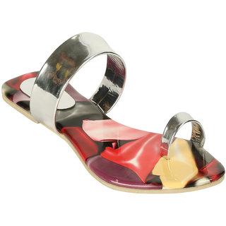 Zachho Women Silver Slippers (HC129-Silver)