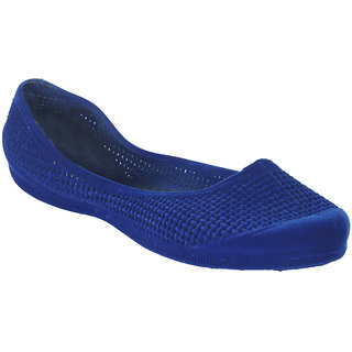Zachho Women Blue Casual Round Toe Bellies (HC217-Blue)