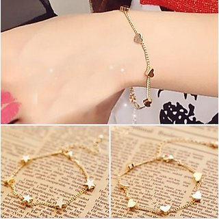 Presidency Gold Plated Gold Alloy Bracelets for Women
