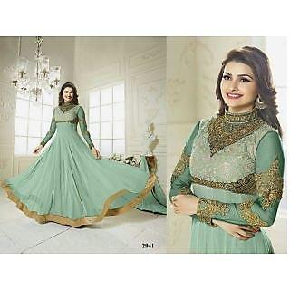 Womens Georgette Anarkali Salwar Suit