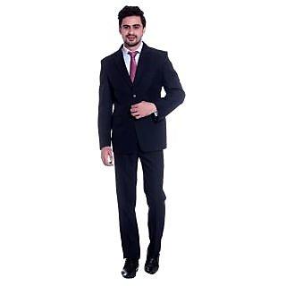 Tag 7 Office Wear Navy Blue 2 Piece Suit Set