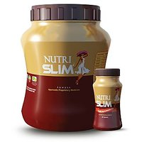 Ayurwin Nutrislim Plus Powder 0.5 Kgs And 60 Capsules Combo Pack