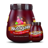 Ayurwin Nutrigain Plus Powder 0.5 Kgs And 60 Capsules Combo Pack