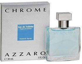 Azzaro Chrome Eau De Toilette - 30 Ml (For Boys, Men)