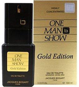 Jacques Bogart One Men Show Gold Edition Edt - 100 Ml (For Men)