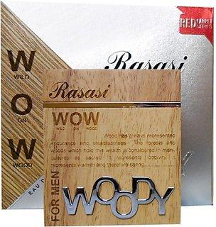 Rasasi Woody (Men) Eau De Parfum - 60 Ml