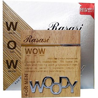 Rasasi Woody (Men) Eau De Parfum - 60 Ml