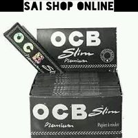 OCB King Size Rolling Smoking Paper Set of 12 (32 leaves each pack)