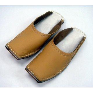 6b7929fe8 Indian Rajasthani Famous Leather Men s Jaipuri Jutti Slipper .India Size 10.