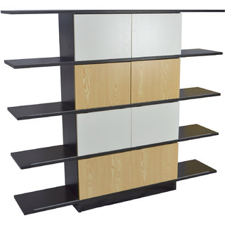 DAZE - BOOK SHELF OR DISPLAY UNIT FOR KIDS ROOM - BROWN AND WHITE