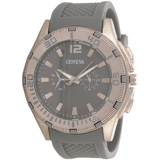 Genva Grey Color Quartz Watch for Boyz