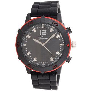 Genva Red Color Quartz Watch for Boyz