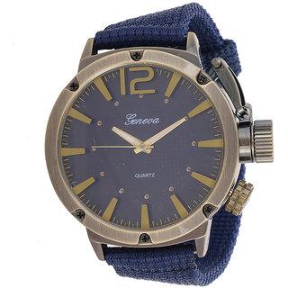 Genva Blue Color Quartz Wrist Watch for Boyz