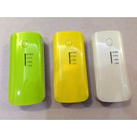 Portable POWER BANK - 5600 With Emergency LED Torch, Battery Meter Display.