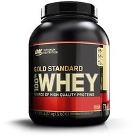 Optimum Nutrition 100 Whey Gold - French Vanilla Creme - 5 Lbs