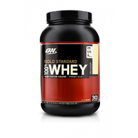 Optimum Nutrition 100 Whey Gold Standard - 2 Lbs (Vanilla Ice Cream)