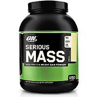 Optimum Nutrition Serious Mass - 12 Lbs (Strawberry)