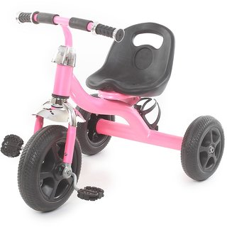 The Flyers Bay Easy to Roam Tricycle with Bottle Holder TFB-TriBottlPink