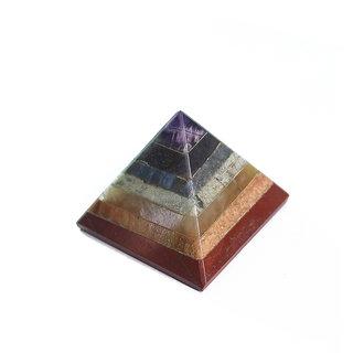 Aum Zone Chakra boned pyramid