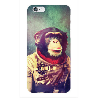 The Fappy Store Monkey Printed Back Cover for iphone 6S
