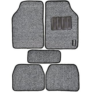Leganza Custom-made Black White Dual Shade Car Mats for HYUNDAI I20