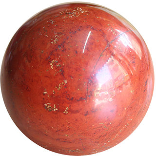Aum Zone Red Jasper Ball 50-60mm