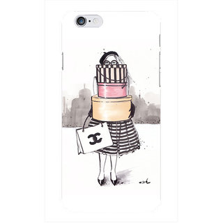 The Fappy Store Shopping-Junkie Printed Back Cover for iphone 6S