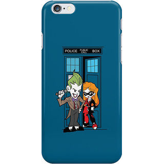 The Fappy Store Madman in a Blue Box Printed Back Cover for iphone 6S