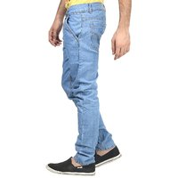 Trendy Trotters Men's Blue Regular Fit Jeans