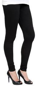 Cotton Black Leggings For Women