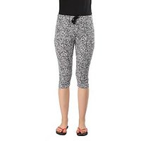 Wajbee Women 100 Percent Cotton Capri