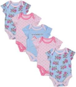 Babysafe Pkw202Bs Multi Girls Body Suit(Set Of 3)