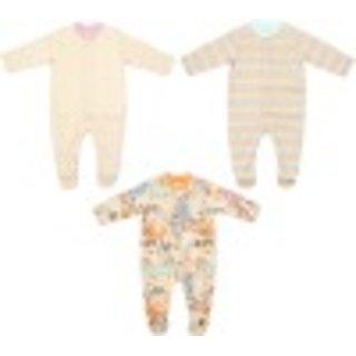 Babysafe Pkw051Ss Multi Boys Sleep Suit(Set Of 3)