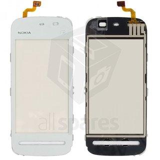 Original Touch Screen Digitizer Glass For Nokia 5233 White